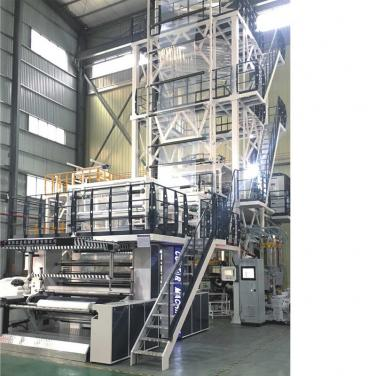 5 Layer Co-Extrusion Film Blowing Machine