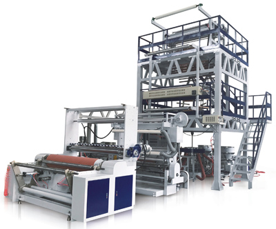 Double Layer film blowing machine