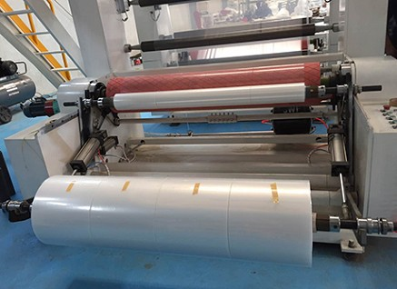 Film blowing machine production line